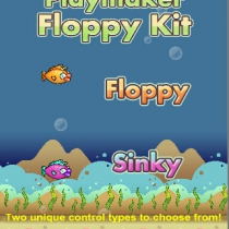Playmaker Flappy Kit unity手游源码