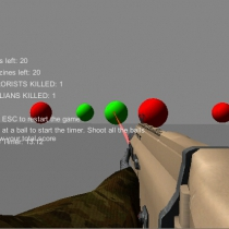 FPS Player Package 1.04 unity3d射击游戏