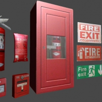 unityd3d灭火器包Extinguisher Pack