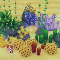 unity3d珊瑚与海藻Coral Forest - Seaweed Valley