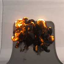 unity逼真的爆炸特效Realistic Explosions Pack