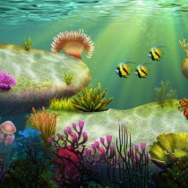 unity2D海底场景 2D Under Water Pack