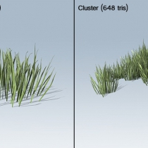 unity草丛包Desktop Grass Package
