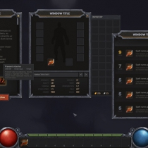 unity UI资源包 RPG & MMO UI 2 for UGUI 1.9