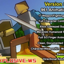 RPG Character Mecanim Animation Pack 3.8