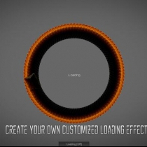 unity圆形进度条Circle Loading Creator v1.0.0 deprecated