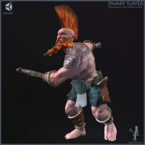 unity矮人战士模型Dwarf Slayer 1.0