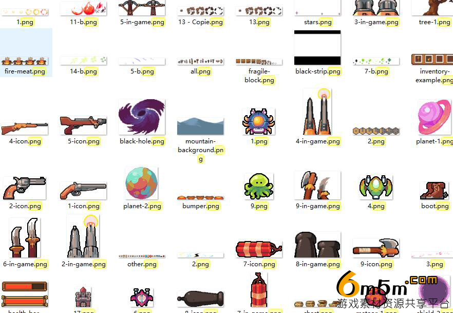2D手绘风格RPG游戏素材Superpowers assets various 2d