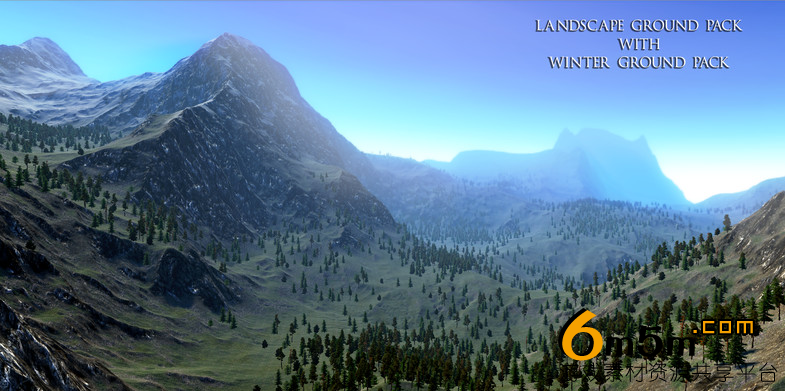 unity纹理资源包Landscape Ground Pack 1.2