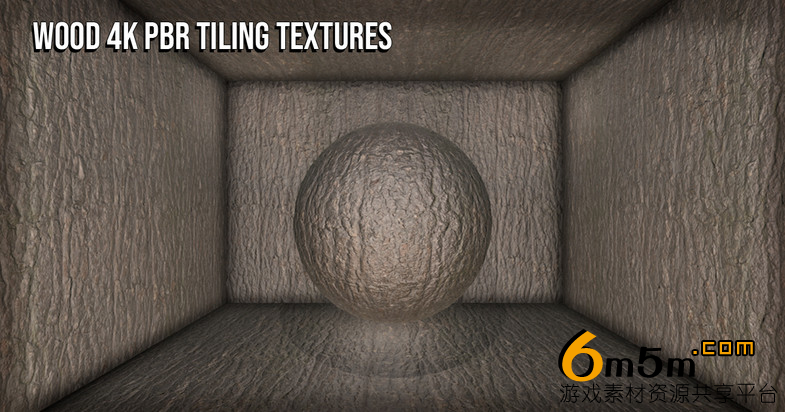 unity木材纹理22 Wood 4K PBR Tiling Textures Collection