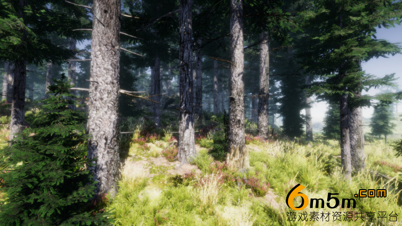 unity山林自然场景Mountain Trees - Dynamic Nature 1.5.8.1