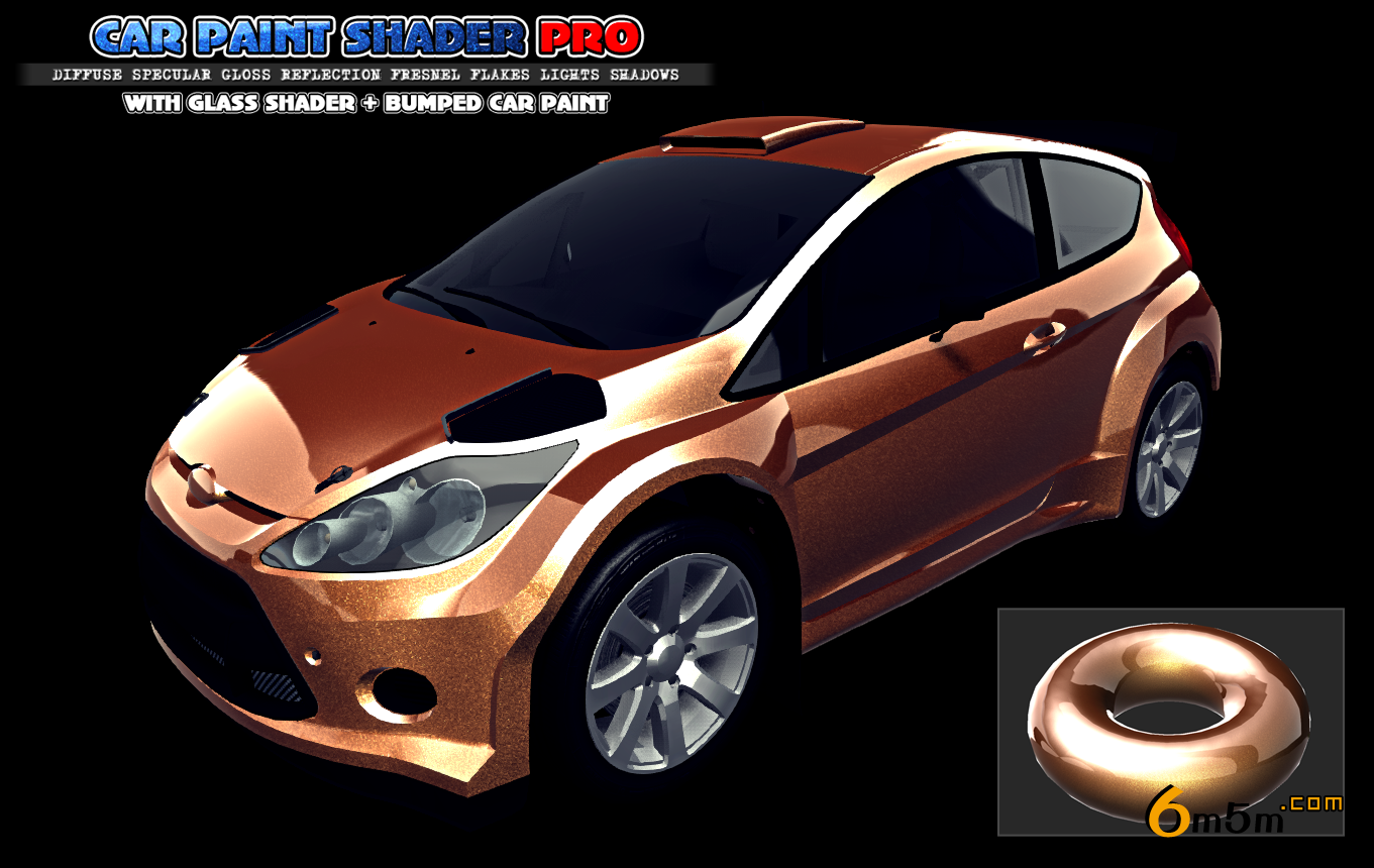 Car Paint Shader Pro 2.8