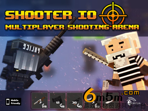 Shooter IO with Battle Royale game mode 1.20