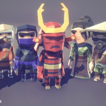 POLYGON MINI - Fantasy Character Pack 1.02