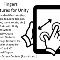 unity触摸控制Fingers - Touch Gestures for Unity 2.5.5