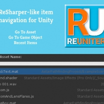 unity扩展搜索导航插件ReUniter - Better Search For Unity 1.