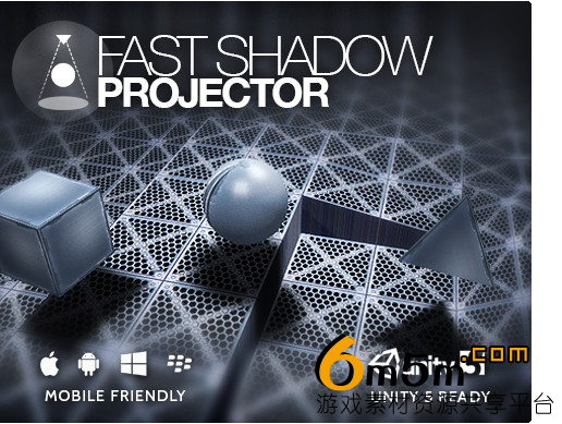 unity快速投影插件Fast Shadow Projector 1.5.7
