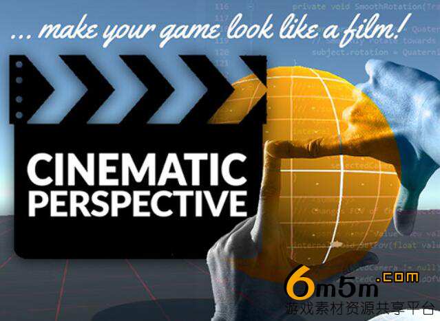 unity电影摄像机Cinematic Perspective Camera System 0.92