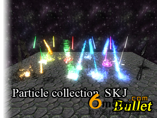 unity粒子特效Particle Collection SKJ (Bullet) 1.5