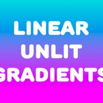 unity线性渐变Shaders着色器Linear Unlit Gradients 0.9