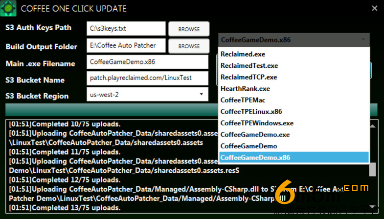 unity游戏补丁更新系统Coffee Auto Patcher System 1.0.29