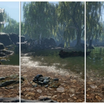 unity完整地形着色器工具CTS - Complete Terrain Shader 1.9.0